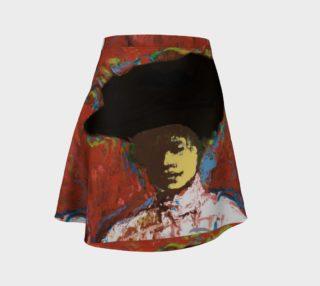Aperçu de Simone Says Official Portrait Flare Skirt