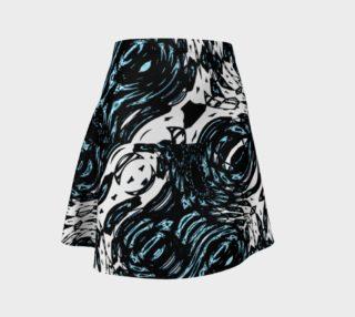 Chamber Jazz Rose-River Flare Skirt preview