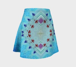 Ice Age Pink Diamonds Flare Skirt preview