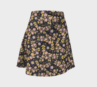 Aperçu de Rosy Garland Flare Skirt