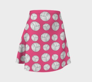 Pink volleyball skirt preview