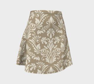 Aperçu de Tan Damask Skirt