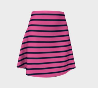 Stripes - Navy on Pink preview
