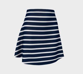 Stripes - White on Navy preview