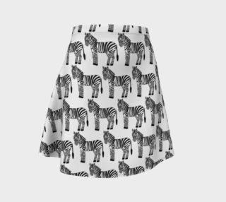 Zebra Skirt preview