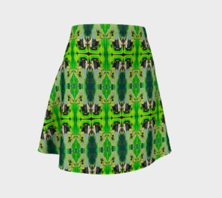 Green Emotion Flare Skirt preview