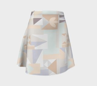 White Crystal Pattern Skirt preview