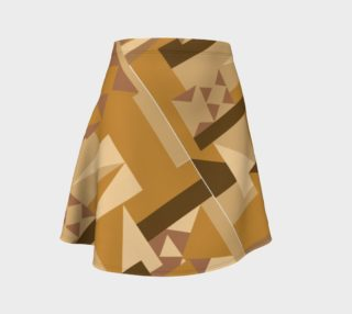 Mellow Tribal Pattern Skirt preview