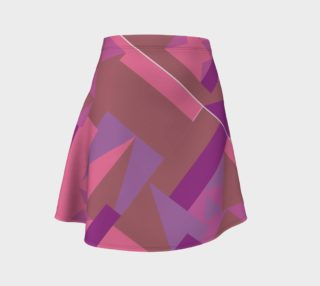 Purplely Pink Pattern Skirt preview