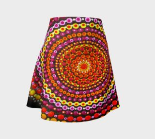 Aperçu de Dotty Mandala Flare Skirt