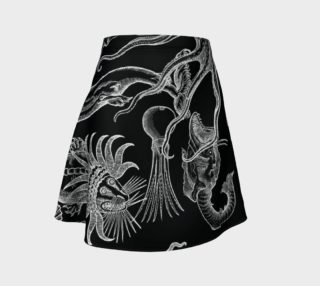 Aperçu de Vintage Horrors of the Deep - Flare Skirt