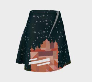 Scream Inspired Flare Skirt preview