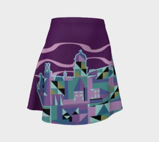 Spooky Inspired Flare Skirt preview