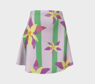 Pink Floral Skirt preview