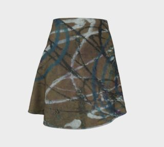 Scribble Flare Skirt preview