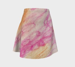 Pink Flowerets Flare Skirt preview
