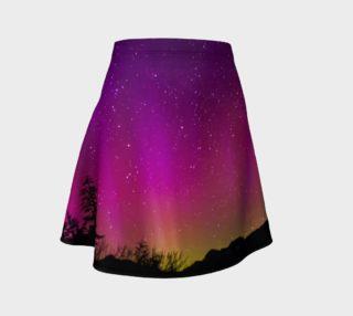Aperçu de Fucshia Stars Northern Lights Skirt