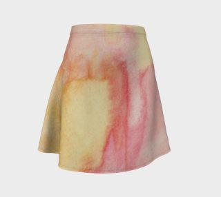 Fluorescent Lava Flare Skirt preview