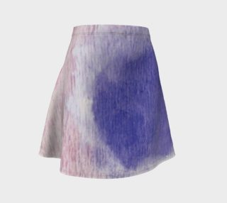 Pastel Floral Dream Flare Skirt preview