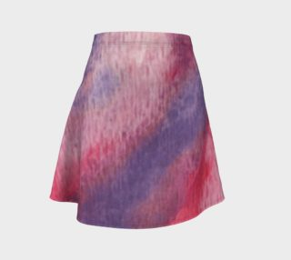 Roses at Night Flare Skirt preview