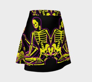 skeletal connection skirt preview