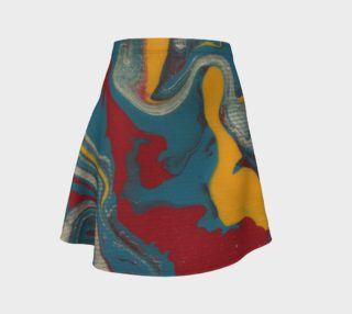 Flow flare skirt preview