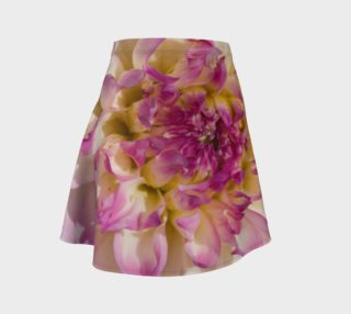 Pink Dahlia Flare Skirt preview