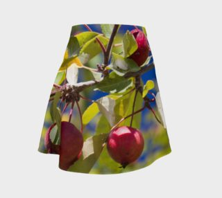 Crabapple Branch Flare Skirt preview