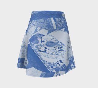 Shades of Blue Ethnic Motifs Pattern    preview