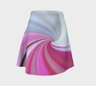 Aperçu de Feminine Swirl Flare Skirt