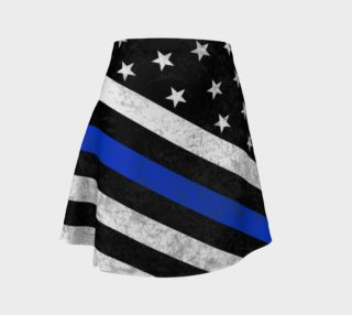 Thin Blue Line Flag Flare preview