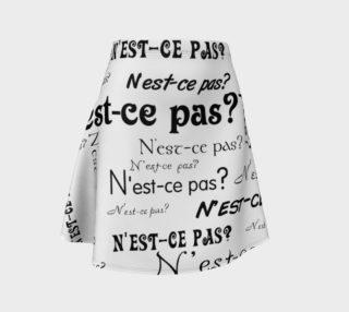 N'est-ce Pas Flare Skirt preview