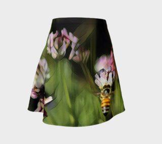Aperçu de Bee on a Flower Skirt - Green