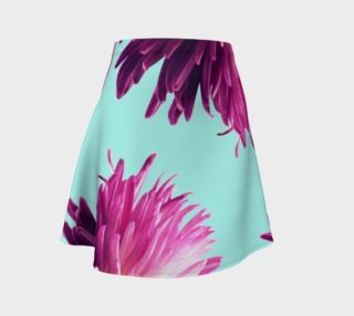 Contrast Floral Flare skirt preview