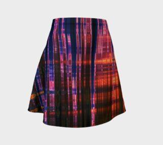 Grid Persuasion Flare Skirt by Danita Lyn preview