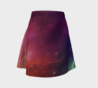 Aurora Portal Flare Skirt by Danita Lyn preview