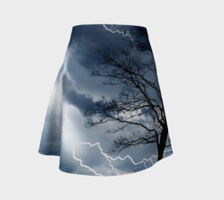 Electric Conversation - Flare Skirt preview