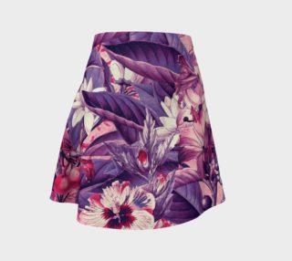 Aperçu de fruits and flowers flare skirt