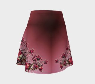 Red Day Berry Kaleidoscope Flare Skirt preview