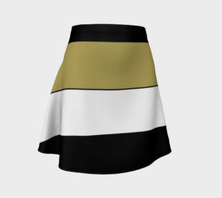 Elegant Black White Brown Gold Stripes Pattern preview