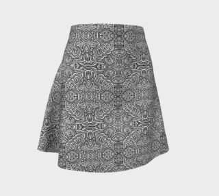 Aperçu de Zentangle monochrome pattern