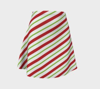 Candy Cane Flare Skirt preview