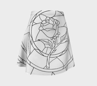 Stained Glass Rose White preview