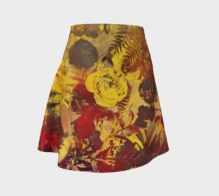 Aperçu de flare skirt flowers
