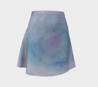 Blue Rose Dance Flare Skirt preview