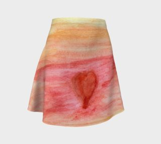 Aperçu de Radiating Heart Flare Skirt