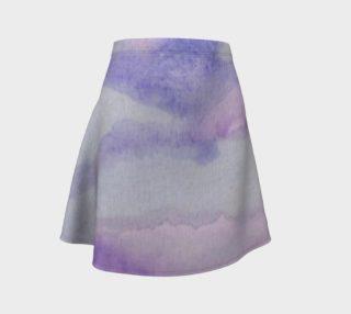 Aqua Dream Flare Skirt preview