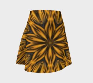 Tiger Stripes Flare Skirt aperçu