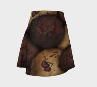 Chocolate Chip Cookies Flare Skirt aperçu