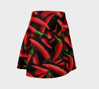 Red Chili Peppers Flare Skirt preview